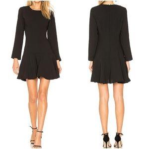 NWOT Amanda Uprichard Hudson Black Mini Dress
